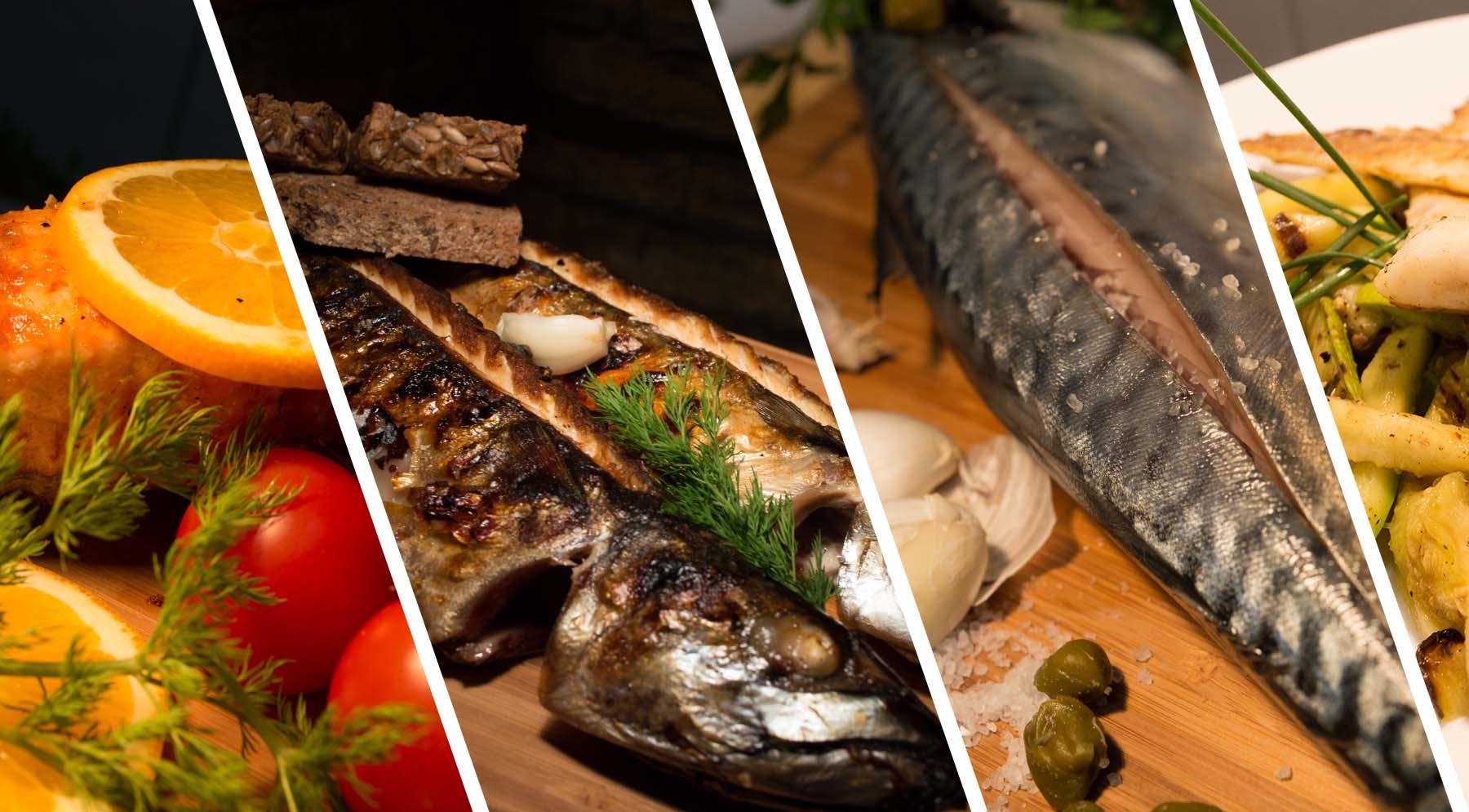 Pečena riba na žaru